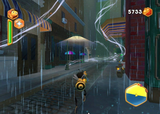 Actionspiel Bee Movie – Das Spiel: Regen