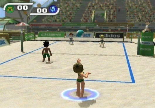 Sportspiel Sports Island: Volleyball