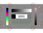 TV-Ger�t mithilfe von Testbildern optimieren: Bildformat einstellen