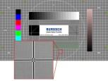 TV-Ger�t mithilfe von Testbildern optimieren: Sch�rfe einstellen