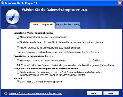 Windows Media Player installieren