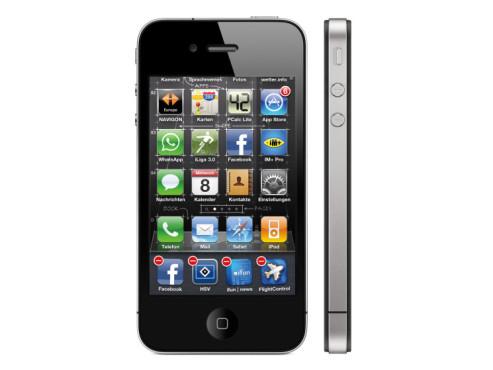 iPhone 3GS und 4 – Multitasking-Programme beenden ©Apple