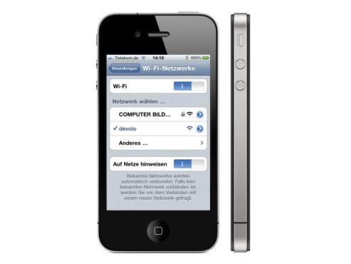 iPhone: WLAN ausschalten schont den Akku ©Apple