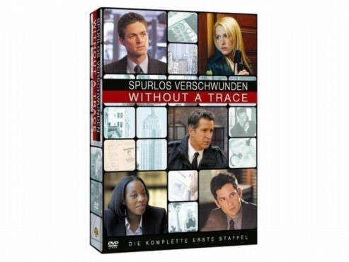 Without a Trace – Spurlos verschwunden (Staffel 1, 4 DVDs)