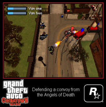Actionspiel Grand Theft Auto – Chinatown Wars: Convoy
