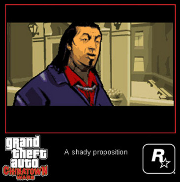 Actionspiel Grand Theft Auto – Chinatown Wars: Cutscene