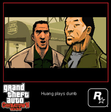 Actionspiel Grand Theft Auto – Chinatown Wars: Zwischensequenz
