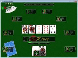 Screenshot 1 - 3D Texas Holdem Poker