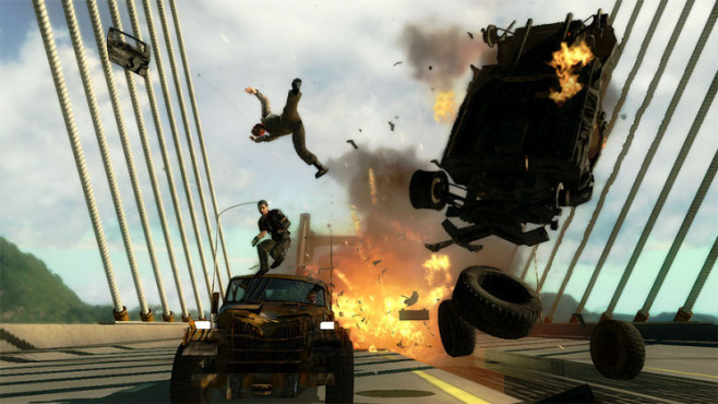 Just Cause 2: Brücke