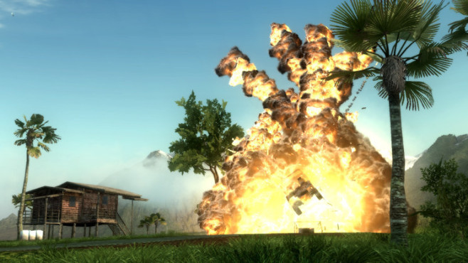 Just Cause 2: Explosion