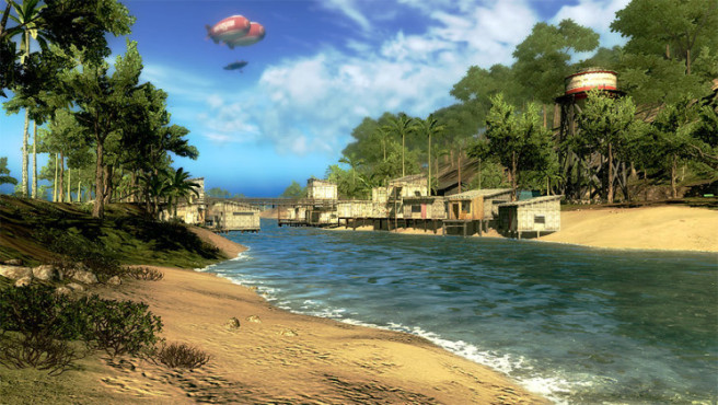 Just Cause 2: Flusslauf