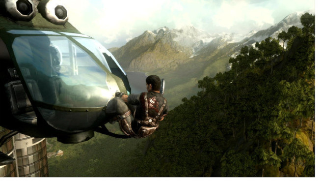 Just Cause 2: Helikopter