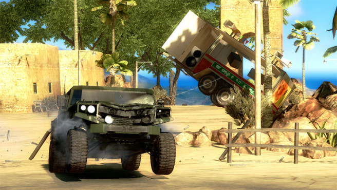 Just Cause 2: Humvee