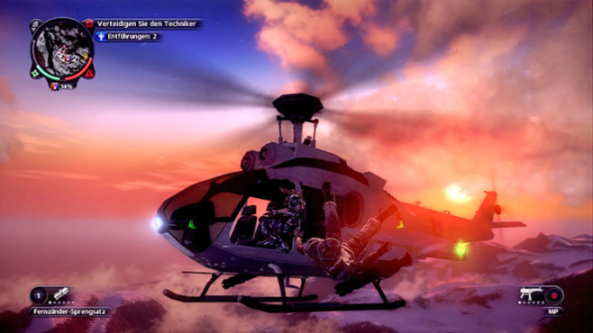 Just Cause 2: Kapern