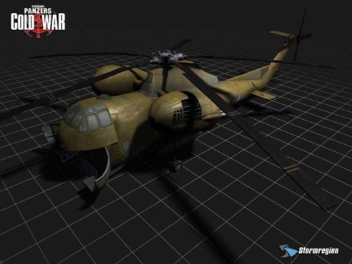 Strategiespiel Codename Panzers – Cold War: Transporthubschrauber