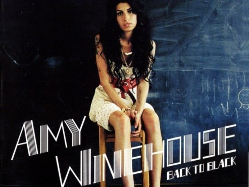 CD-Cover: Amy Winehouse � Back To Black
