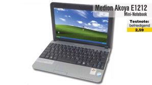 Video zum Test: Netbook Medion Akoya E1212