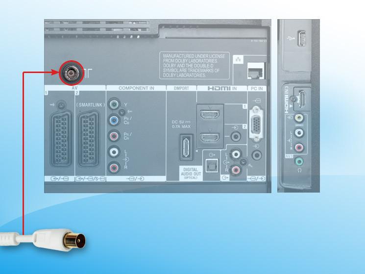 strømkabel til samsung tv