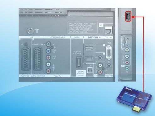 Seitlicher USB-Anschluss ©COMPUTER BILD