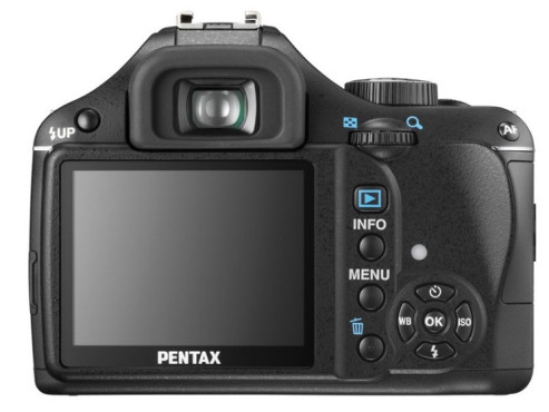 Pentax K-m - Display