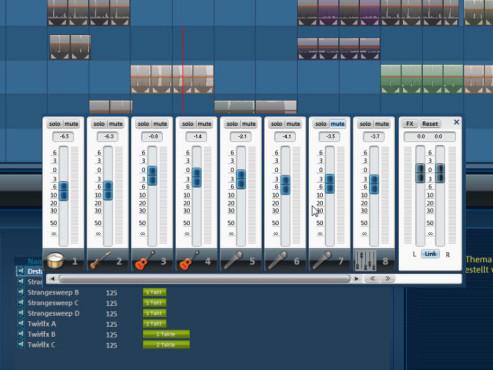 Magix Music Maker: Screenshot Mixer