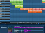 Magix Music Maker: Screenshot Tonspuren