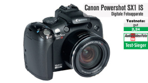 Testsieger Canon Powershot SX1 IS
