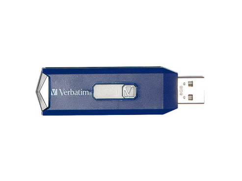 Verbatim Retractable Blue 8GB