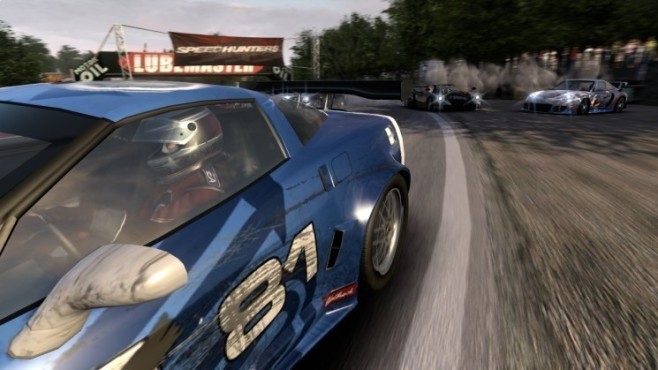 Rennspiel Need for Speed � Shift: Kiesbett