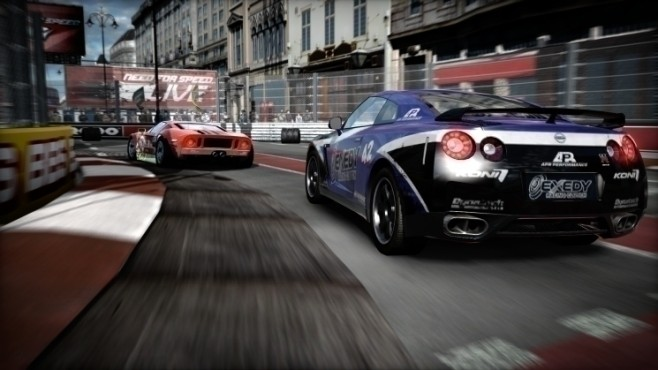 Rennspiel Need for Speed – Shift: Kurvenlage