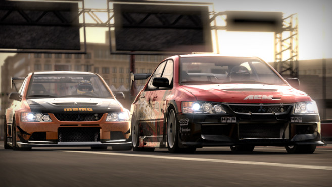 Rennspiel Need for Speed – Shift: Mitsubishi Evo