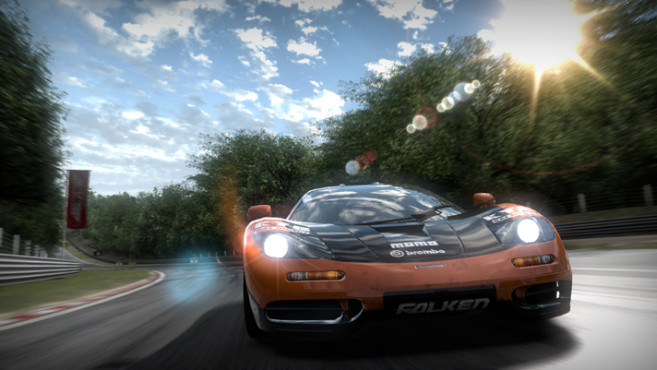 Rennspiel Need for Speed � Shift: Sonne