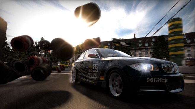 Rennspiel Need for Speed � Shift: Streckenbegrenzung
