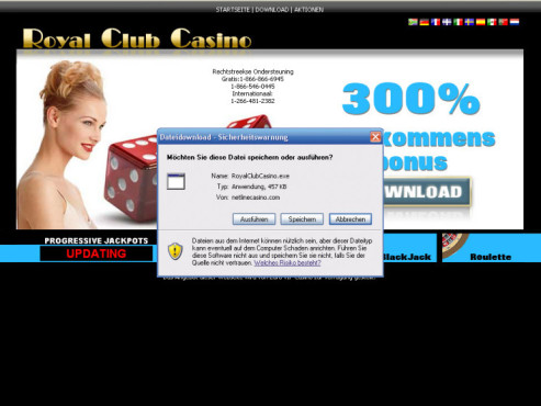 online casino club spam