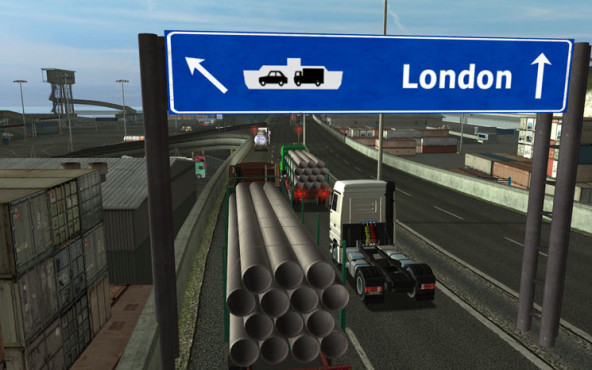 Simulation Euro Truck Simulator – Gold Edition: London
