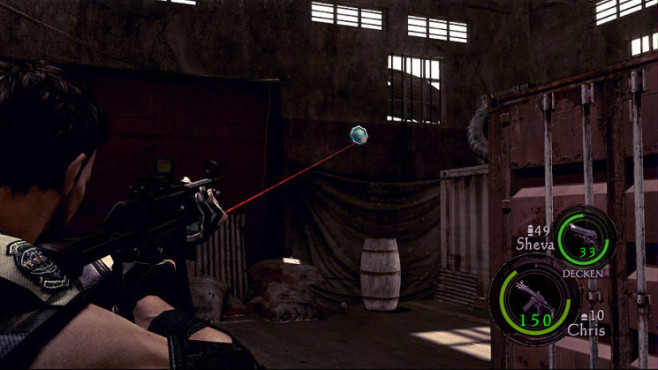 Komplettlösung Resident Evil 5: Emblem 04