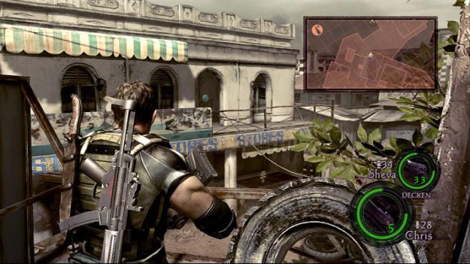 Komplettlösung Resident Evil 5: Emblem 07