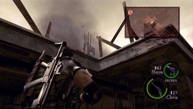 Komplettlösung Resident Evil 5: Emblem 08