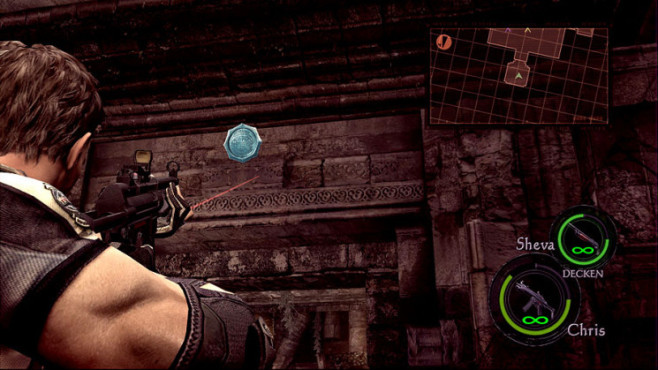 Komplettlösung Resident Evil 5: Emblem 22