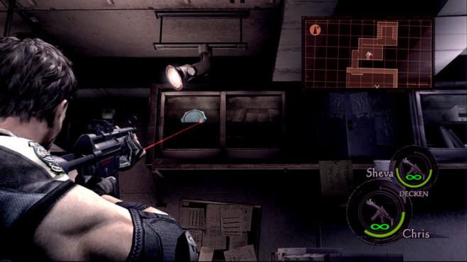 Komplettlösung Resident Evil 5: Emblem 30
