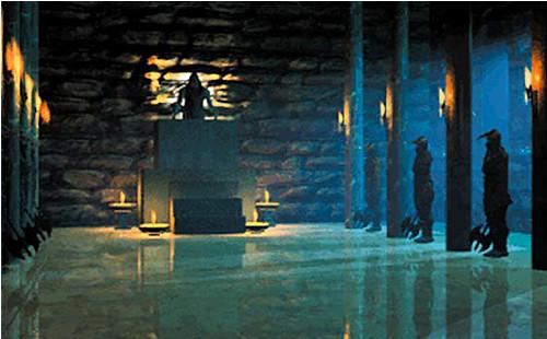 Rollenspiel The Elder Scrolls - Daggerfall: Saal ©Bethesda