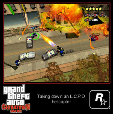 Actionspiel Grand Theft Auto – Chinatown Wars: Explosion