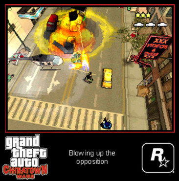 Actionspiel Grand Theft Auto – Chinatown Wars: Helikopter