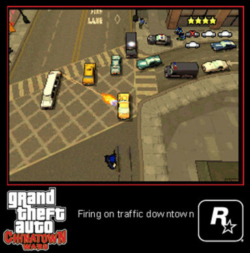 Actionspiel Grand Theft Auto – Chinatown Wars: Limousine