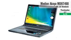 Medion Akoya MD97490: Aldi-Notebook im Test