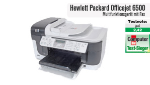 Hewlett Packard Officejet 6500: Multifunktionsger�te mit Fax im Test