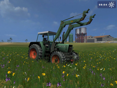 Landwirtschafts-Simulator 2009: Frontlader