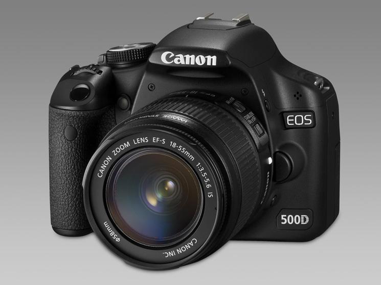 spiegelreflexkamera canon eos 500d dslr modell audio. Black Bedroom Furniture Sets. Home Design Ideas