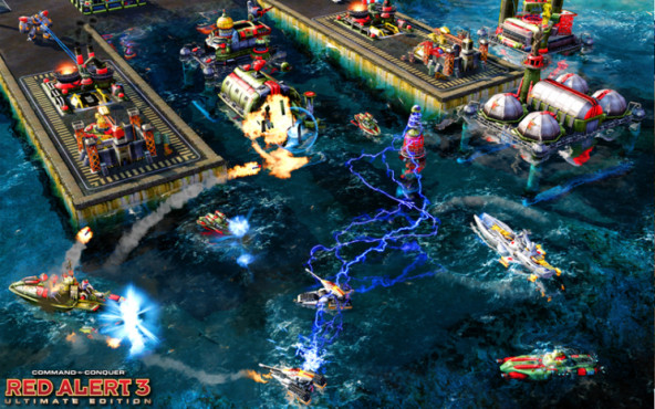 Strategiespiel Command & Conquer  Alarmstufe Rot 3 Ultimate Edition: Wasser