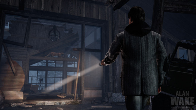 Actionspiel Alan Wake: Lichtkegel